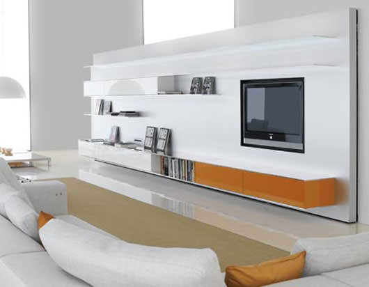 Tv Stand Designs On Wall : Leader kitchens tv stands